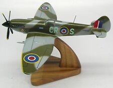 Supermarine Spitfire MK II Airplane Wood Model Replica XLarge Free Shipping