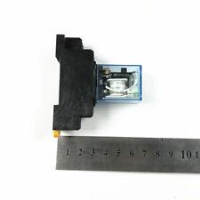 110/120V  220/230V 12/24V AC Power Relay 10A LY2NJ DPDT 8 Pins with Socket New