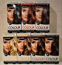 GLAMORIZE 4 STEP HAIR DYE ADVANCED CREME COLOUR BLONDE BLACK BURGUNDY Or RED