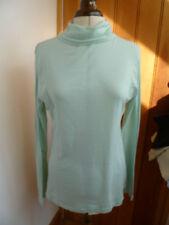 american apparel fair trade aqua sheer jerseytop stehkragen polo xl neu
