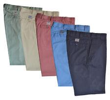 Mens Premium  Chino Trouser Casual 100% Cotton 32-54 Active Elasticated Waist