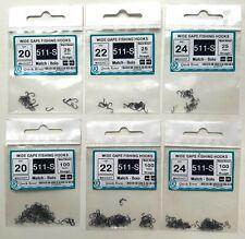 SET FLASHABOU ELRITZE 11x Mischfarbe Fliegenbindematerialien Flash Fliegenfische