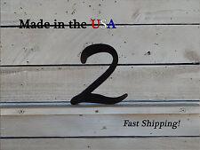 "12"" Metal Numbers-Child's Outdoor Decor-Cute Numbers-Steel Numbers-F1007"
