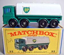 "MATCHBOX RW 32c Leyland petroliere ""BP"" ADESIVI IN BOX"