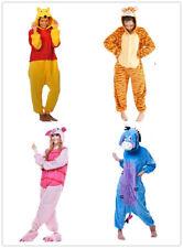 Winnie the Pooh Piglet Tigger Onesiee Kigurumi Fancy Dress Costume Hoody Pyjamas