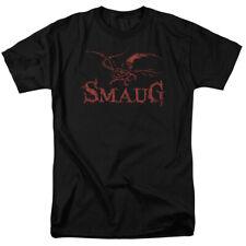 The Hobbit Dragon Mens Short Sleeve Shirt Black