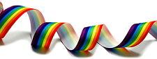 0,99Euro/Meter Regenbogen Geschenkband Stoffband/ Haarband/ Versch. Längen