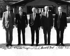 Presidents RICHARD NIXON GERALD FORD JIMMY CARTER RONALD REAGAN GEORGE BUSH