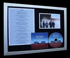 KEANE Disconnected LTD CD MUSIC FRAMED DISPLAY+STRANGELAND+EXPRESS GLOBAL SHIP!!