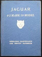 JAGUAR 4.2 MARK 10 modello auto manuale / MANUAL 1960 #E / 129 / 1