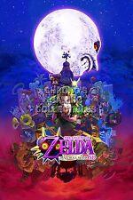 RGC Huge Poster - Legend of Zelda Majora's Mask 3D Nintendo 3DS N64 - ZELM01