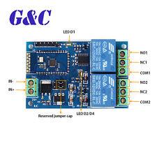 5V/12V 2CH Bluetooth Relay Module Smart Home Mobile APP Remote Control Switch