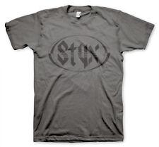 Officially Licensed Styx Logo Men's T-Shirt S-XXL Sizes