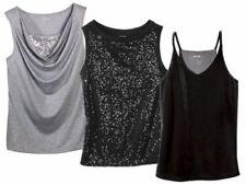6fdcdf2819e23d (R47) Esmara Fashion Top Oberteil Damenmode Shirt Glitzer Samt NEU