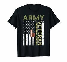 New listing American Flag Camo Proud Us Army Veteran T-Shirt
