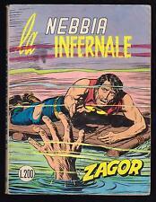 ZAGOR ZENITH N. 140 LA NEBBIA INFERNALE