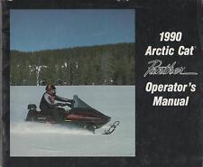 1990 Arctic Cat Snowmobile Panther Operator Manual