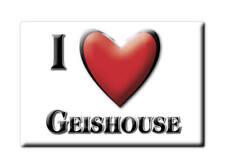 MAGNETS FRANCE - PAYS DE LA LOIRE SOUVENIR AIMANT I LOVE GEISHOUSE (HAUT RHIN)