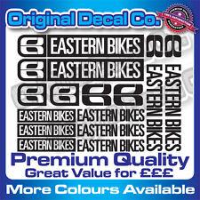 Premium Quality Eastern Bike Decals Stickers mountain bike frame mtb set