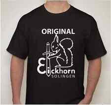 CARL EICKHORN WW2 WWII German Dagger swordknife blade maker mark 2 sided T shirt