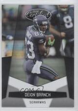 2010 Certified #132 Deion Branch Seattle Seahawks Football Card