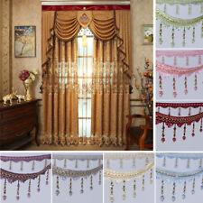 1m Curtain Sewing Tassel Fringe Trim Tassel Crystal Bead Lace Accessory Craft