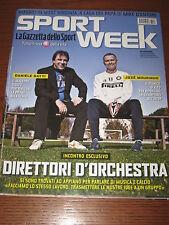 SPORT WEEK SW 2008/46 JOSE MOURINHO DANIELE GATTI KARIM BENZEMA DIDO BLEILER