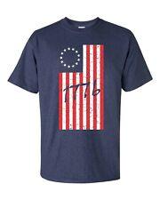 1776 Betsy Ross 13 Star Original Flag United States America Men's Tee Shirt 999