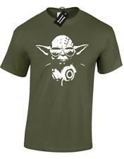 DJ Yoda T-shirt Homme STAR TROOPER musique Storm Wars Jedi Skywalker Funny Design