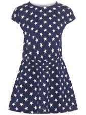 Sommerkleid NMF VIGGA NAME IT Mädchen Blau oder Weiss,  Sterne oder Melone