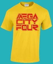 MEGA CITY FOUR T-shirt  (Fugazi, Shellac, Husker Du, Dinosaur Jr., Nomeansno)