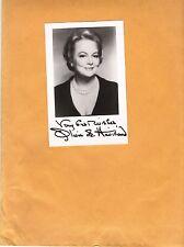Olivia De Havilland-signed photo