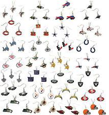 necklace earring set charm pendant NFL PICK YOUR TEAM