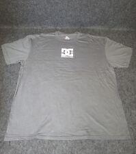 Uomo DC Moda Casual Skate Maglietta T-Shirt S-XL XXL Grigio scuro {DC09}