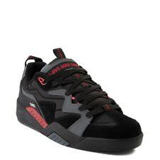 Mens DVS Devious Skateboarding Shoes NIB Charcoal Black Red