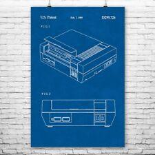 Nintendo NES Video Game System Poster Art Print Nintendo Poster Nes Poster Gift