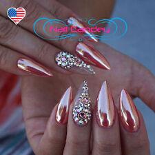 Rose Gold Crystals Swarovski Flatback 3ss 5ss 8ss 10ss 16ss 20ss, 3D Nail Art