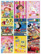 Children's Cartoon Fun Activity Colouring Book