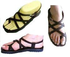 Sandales type spartiates CUIR marron différents modèles