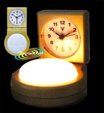 PSV Beep Alarm Clock GOLD White Push Light Function