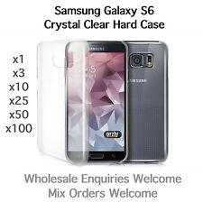 Samsung Galaxy S6 Cristal Transparente Delgada Funda Rígida al por mayor