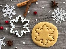 Snowflake Xmas Cookie Cutter 06 | Christmas | Fondant Cake Decorating | UK