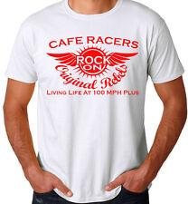 Café Carrera Camiseta original diseño Ton Dar Cuerda Niños ROCKERS The AÑOS 60