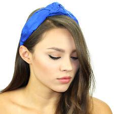 Kristin Perry Dupioni Silk Top Knot Headband Gossip Girl Style