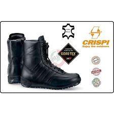 Anfibi CRISPI SWAT HTG Militari in Pelle e GoreTex Anfibio Crispi Polizia EI CC