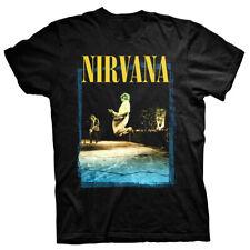 Nirvana Guitare Leap Kurt Cobain in utero Rock sous licence Tee T-shirt hommes