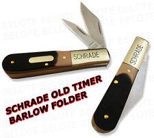 Schrade Old Timer DELRIN Barlow 2-Blade Knife 280OT NEW