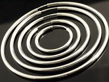 925 Silber Hohlcreolen  in den Grössen von 15 mm bis 80 mm je   PAAR