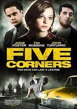 Five Corners, Good DVD, Jodie Foster, Tim Robbins, John Turturro, Tony Bill