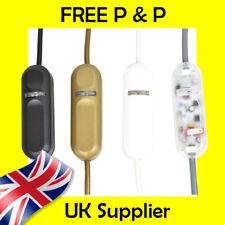 En línea Pulsador Interruptor Regulador Para Led, CFL Bombillas incandescentes de hasta 150W y